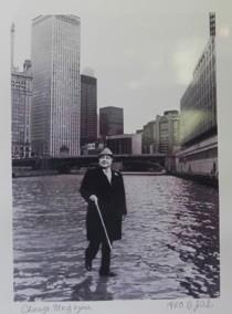 Mayor Daily Walkin' on Water