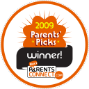 2009 Parents' Picks Winner!